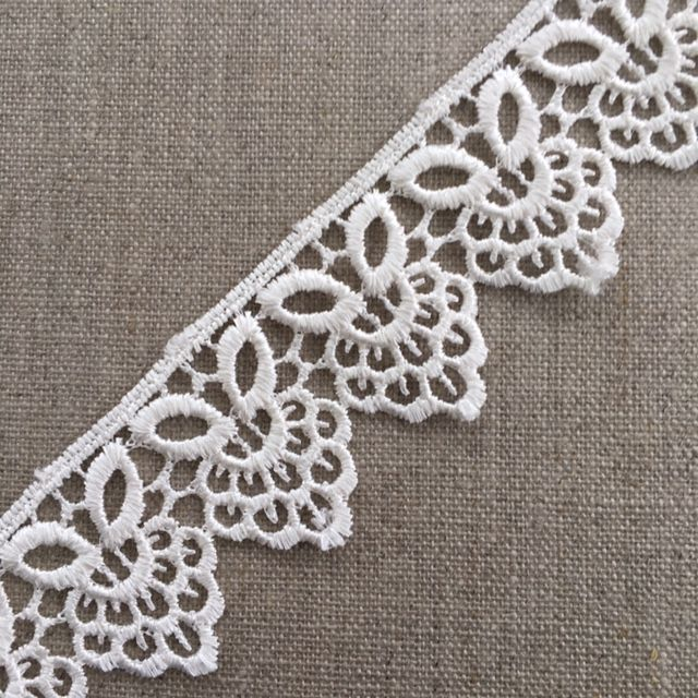 37mm Ivory Guipure Lace