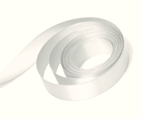 Antique White Double Satin Ribbon