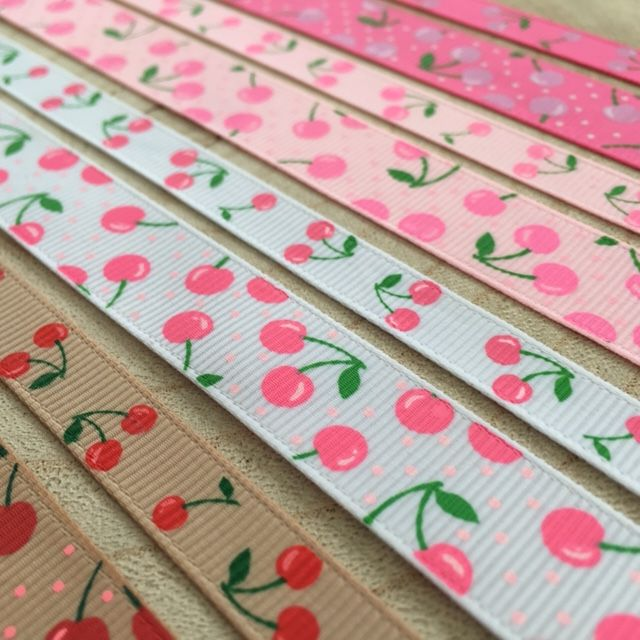 Cherry Collection Ribbons