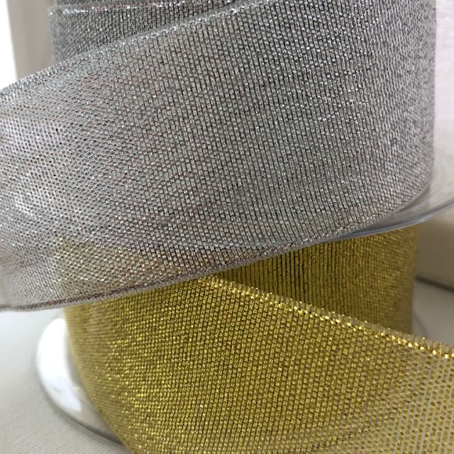 Metallic Lurex Ribbon 38mm