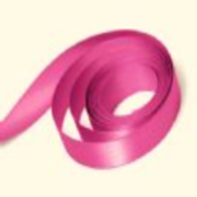 Shocking Pink Double Satin Ribbon